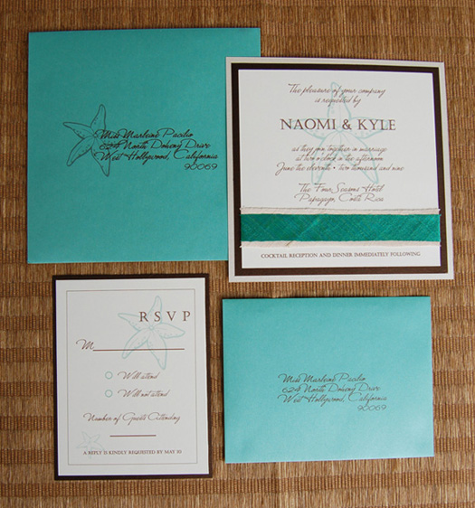 For Beach Wedding Invitation Sample: Wedding Invitations Wording